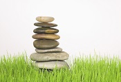 Balancing, Stacked Rocks