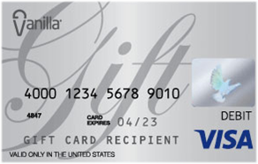 human subject vanilla visa gift cards - Visa Debit Gift Card