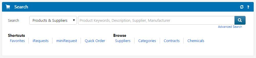 Marketplace Homepage Search Feature