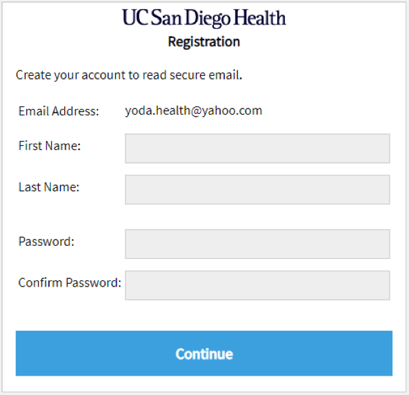 Decrypting a Secure Message from UC San Diego Health or UC San Diego