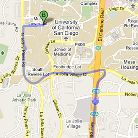 Google Maps for UCSD