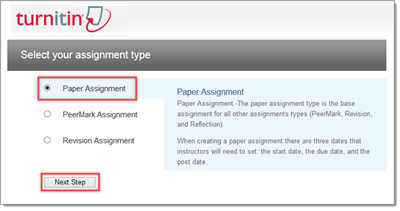 turnitin paper assignment