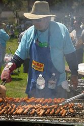 Staff Appreciation Picnic 2003. Photo by Elazar Harel