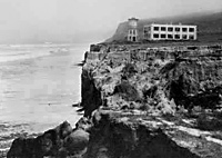 A view of Scripps Institution of Oceanography looking north, 1910. Photo: SIO Archives/UCSD