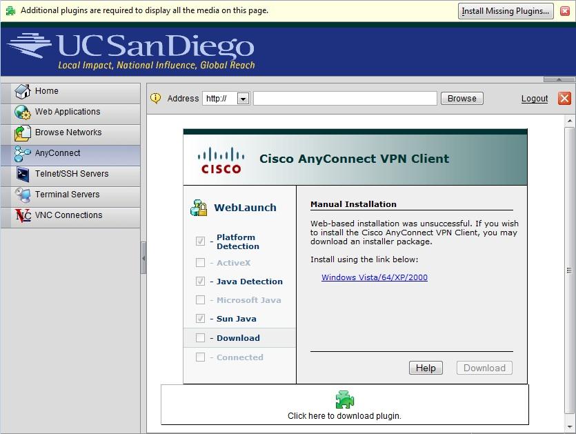 Windows XP VPN Setup Instructions