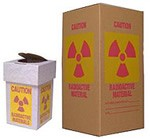 Radioactive waste boxes