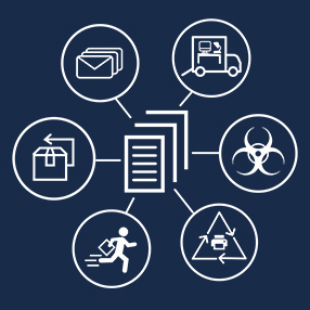 logistics request forms icon