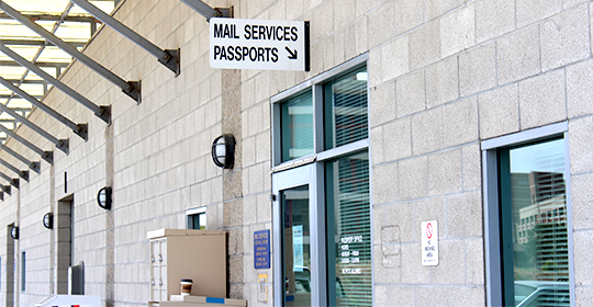 mail services passport office