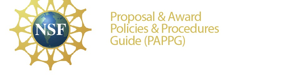 Proposal and Award Policies and Procedures Guide