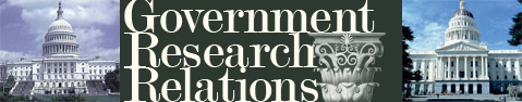 Government Research Relations banner