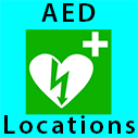 emergency aed locations