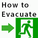 how to evacuate