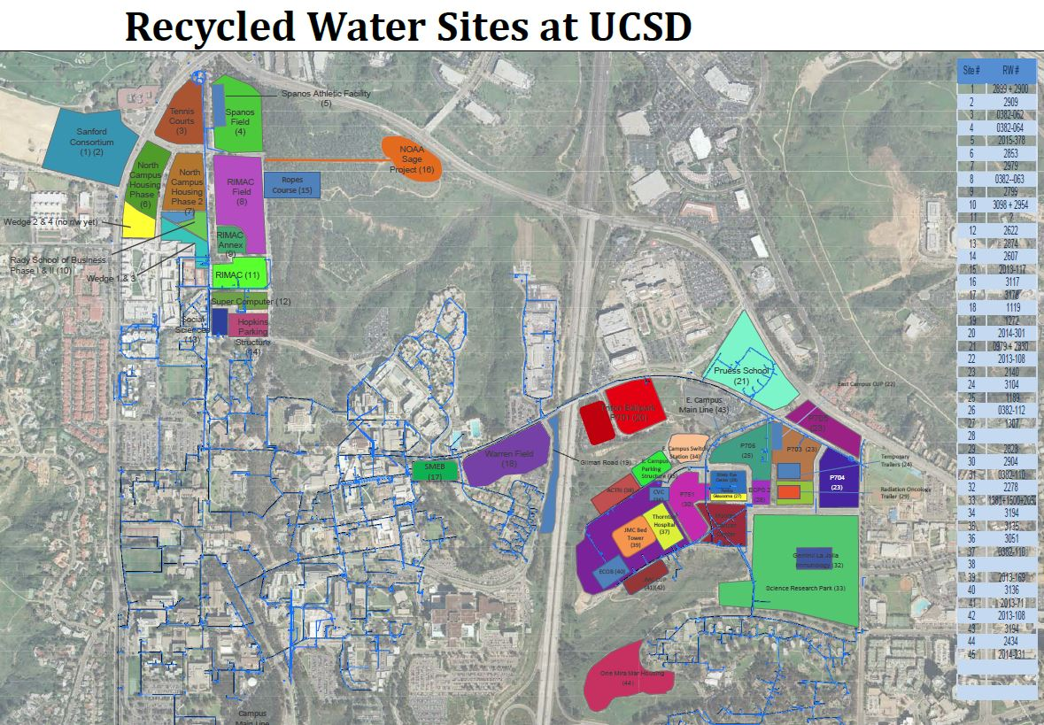 recycled water map