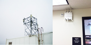 radiation tower and WiFi picture