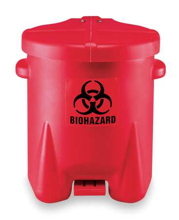 Biomedical waste container