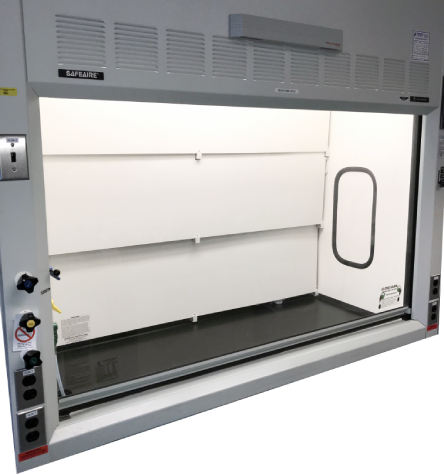 approved fume hood