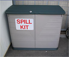 SPCC large spill kit, closed