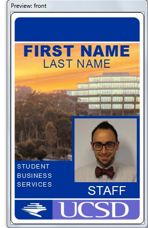 Campus cards for faculty and staff in addition to serving as your official photo identification card and security badge the campus card will give you access to campus buildings and events colourmoves