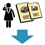Track status and metrics icon