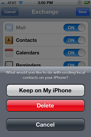 Setting Up iPhone/ iTouch/ iPad 6 x - 7 x Mail for Exchange