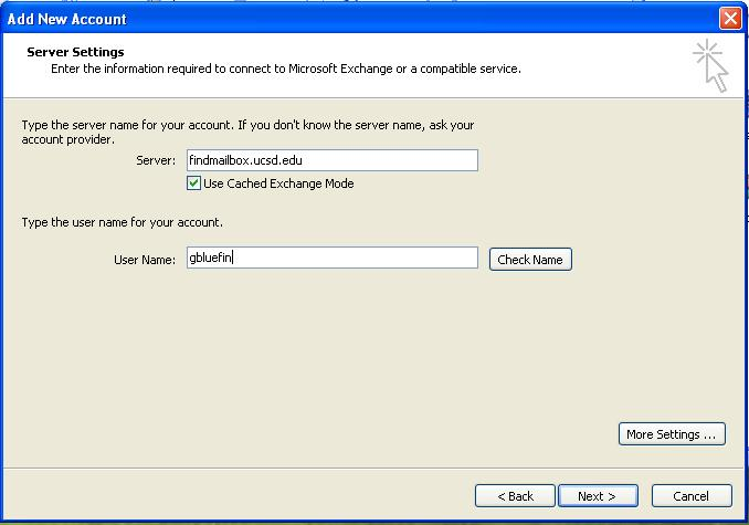 Setting Up Outlook 2010 for Exchange