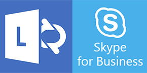 Lync Skype for Business logo