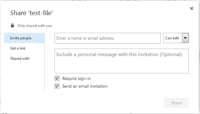 How to Share OneDrive Files