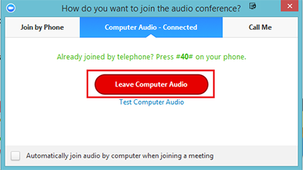 Zoom: Join a Meeting by Phone