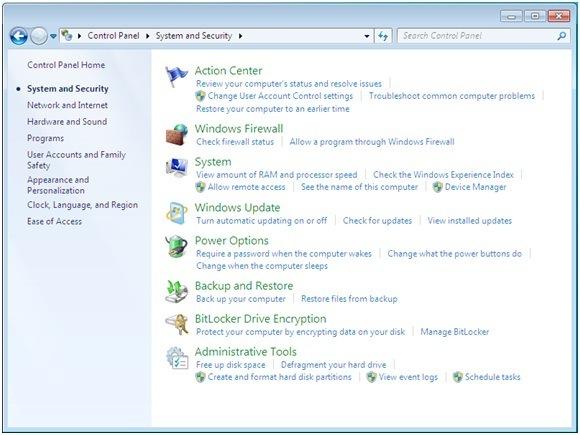 файрвол windows 7 - фото 3