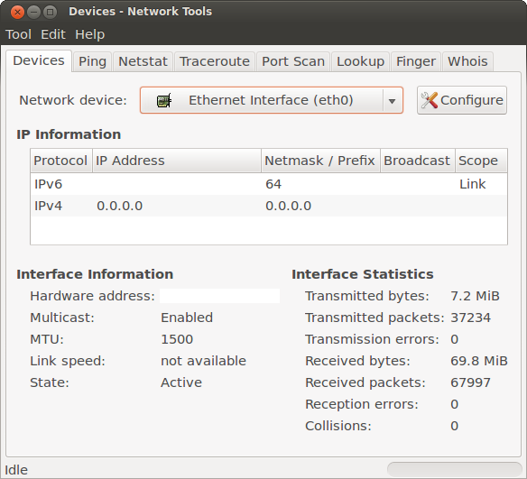 Connecting to the UCSD Network Via Ethernet With Ubuntu Linux