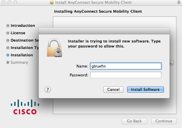 Configuring the UCSD VPN Client for Mac OS X 10 10 x and Above via