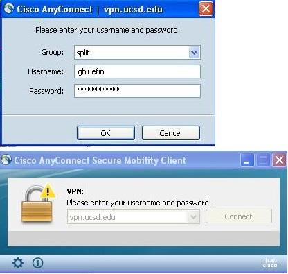 UCSD Web Virtual Private Network