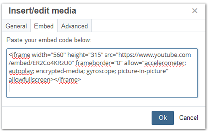 Embed a Video into a Web Page